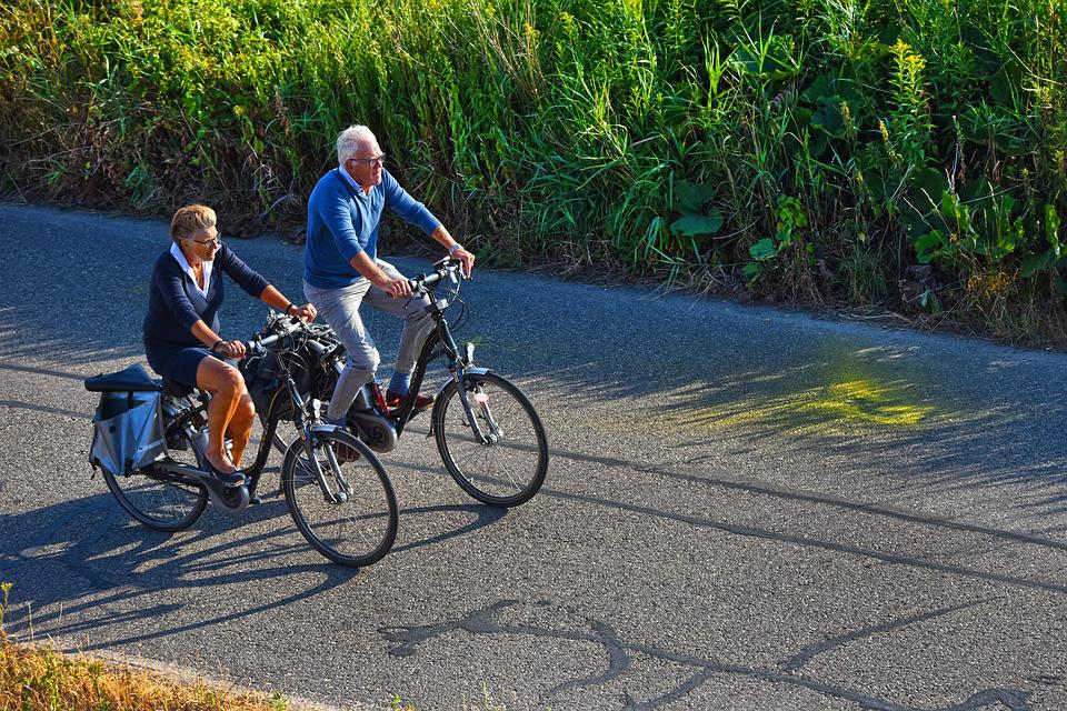 Bicycle, Cyclists, Cycling, Bicycle Ride, Man, Woman