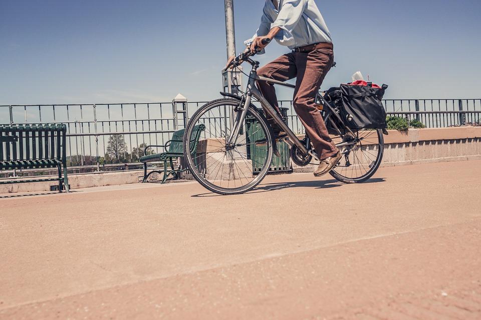 Bicycle, Bike, Riding A Bike, Road, Traffic, Biking