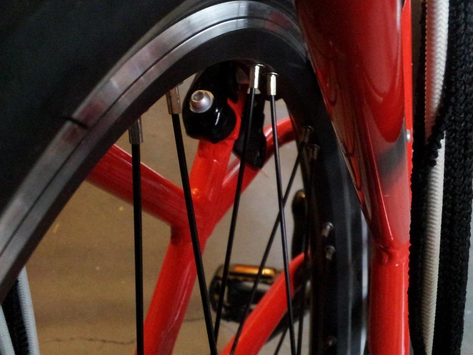 Wheel, Bicycle, Spokes