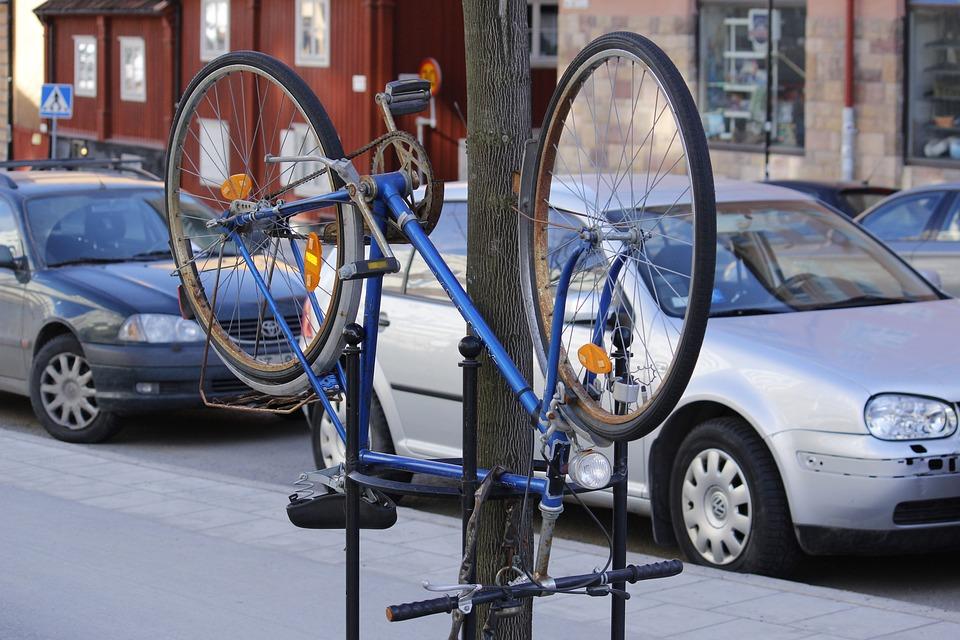 Bicycle, Street, City