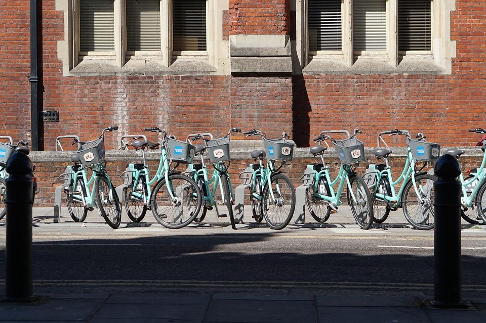 Bikes, Bicycles, Brighton, View, Bike Racks