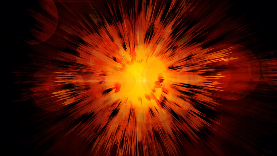Big Bang, Explosion, Pop, Fireball, Fire, Brand