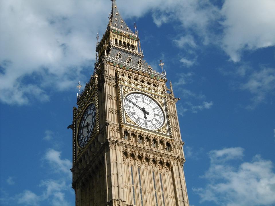 Architecture, London, Big Ben, Clock, Tower, England
