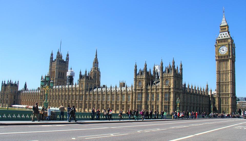 Westminster, Big Ben, London, Parliament, England