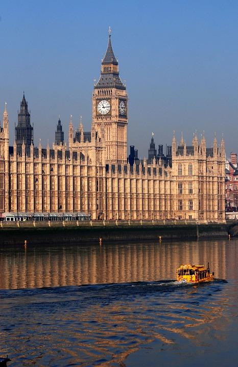 Westminster, Palace Of Westminster, Big Ben, London