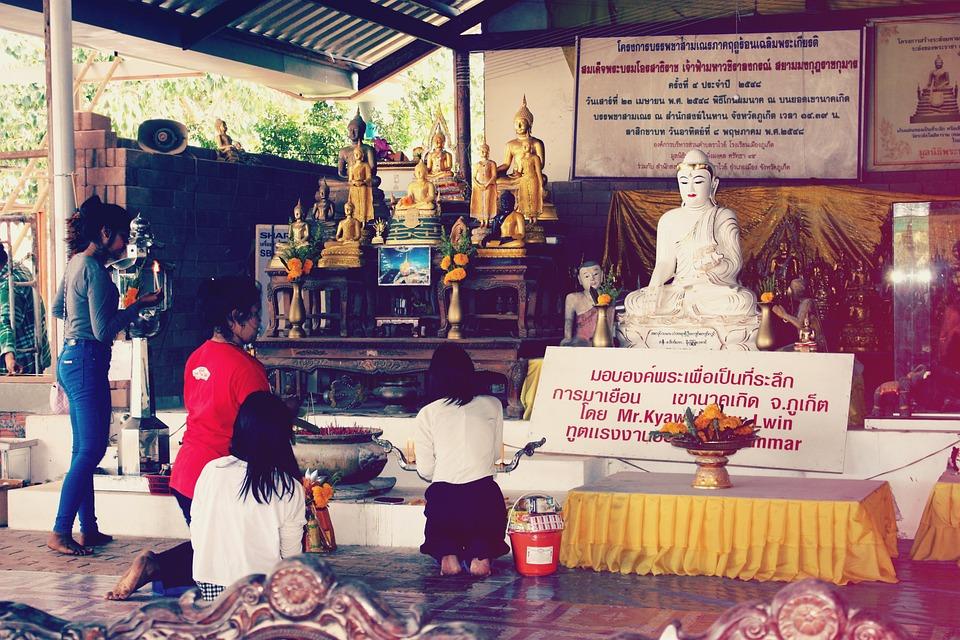 Big Buddha, Thailand, Phuket, Buddha, Buddhism, Temple