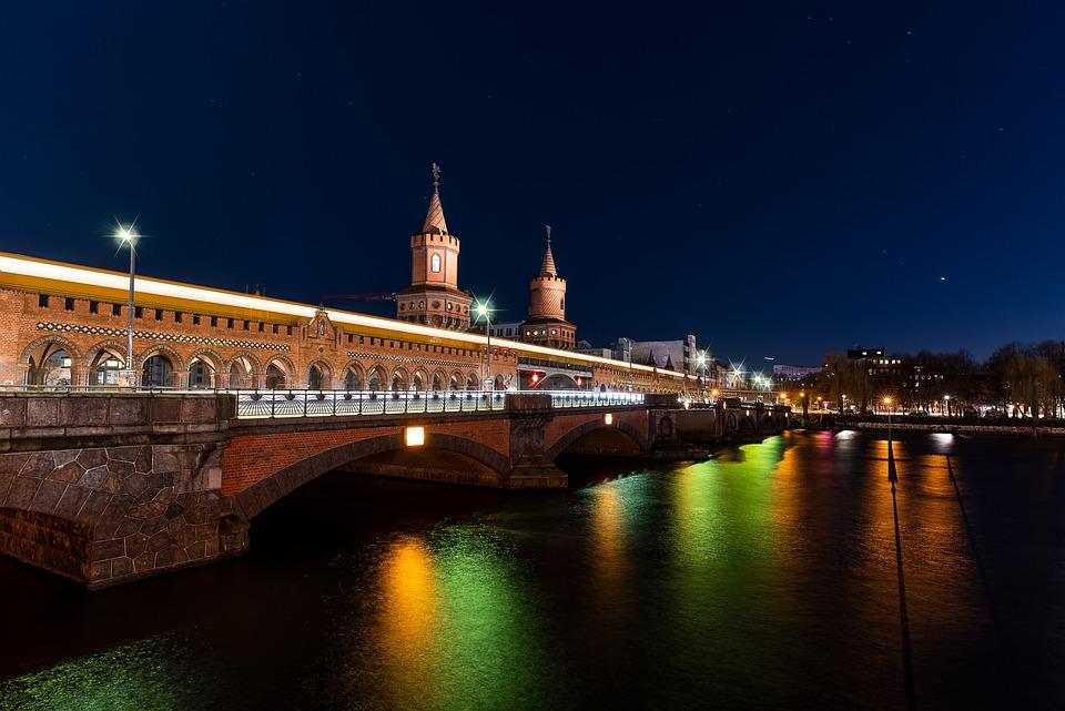Berlin, Big City, Night Photography, Night Shoot