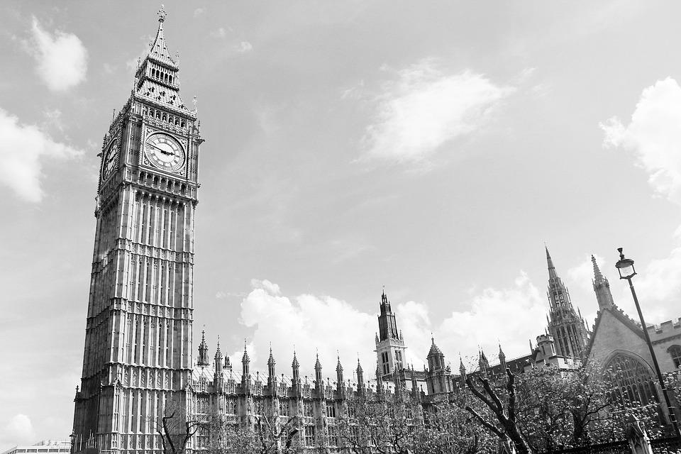 Big Ben, London, England, Big, Ben, Clock, Landmark