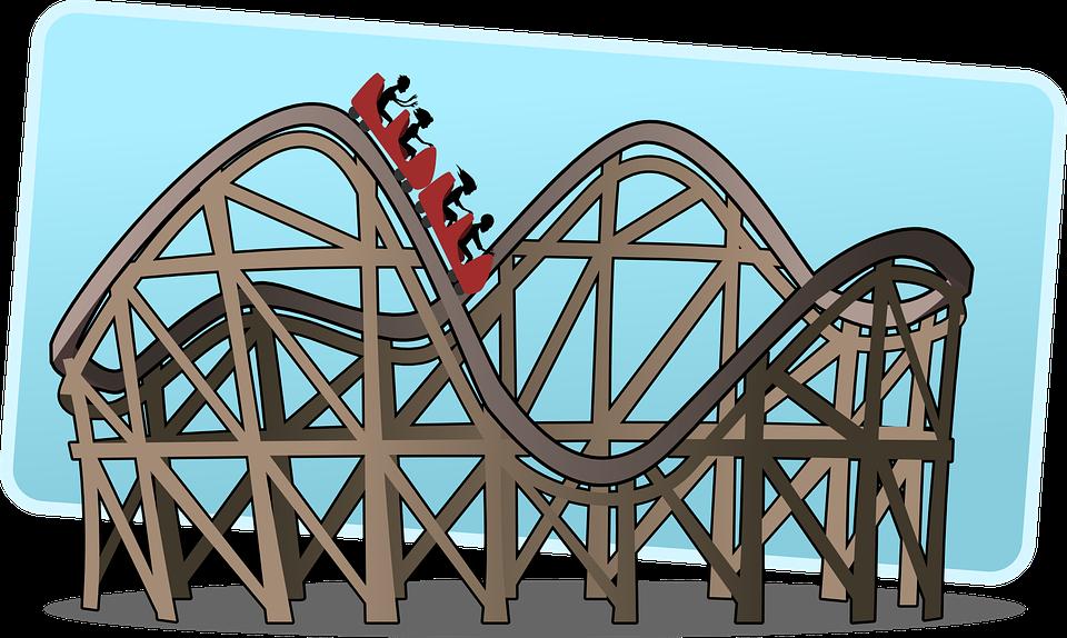 Rollercoaster, Roller Coaster, Big Dipper, Switchback