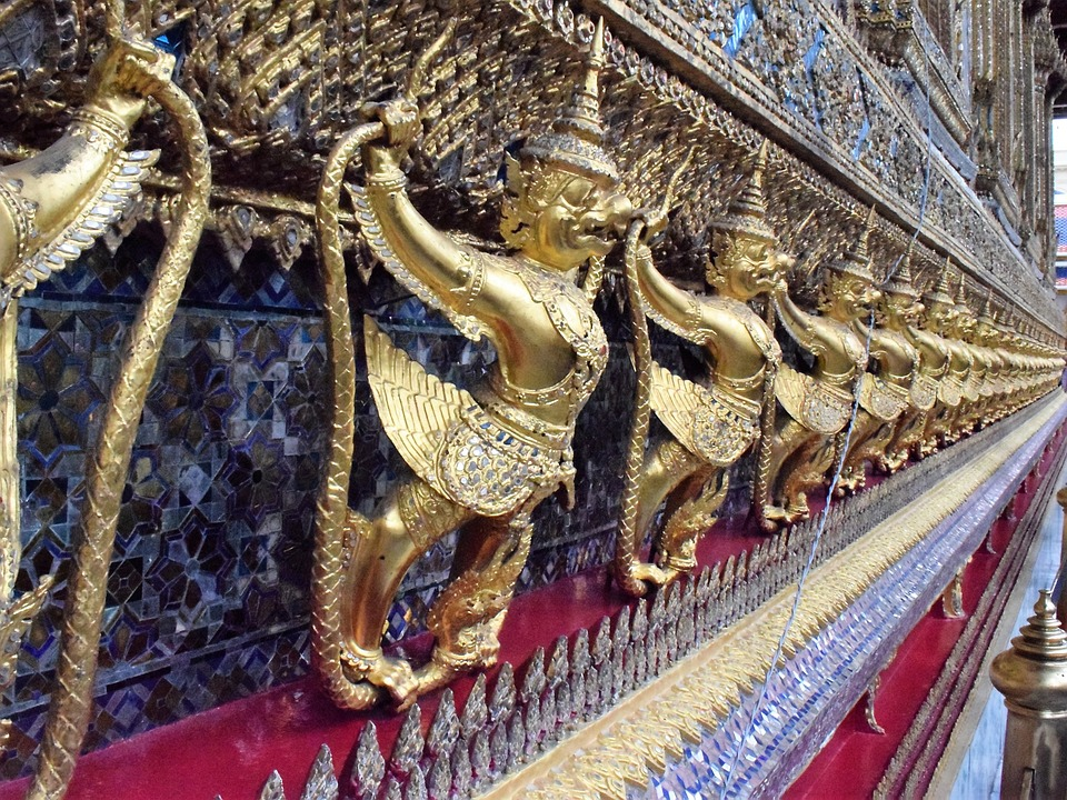 Thailand, Big Palace, Statue