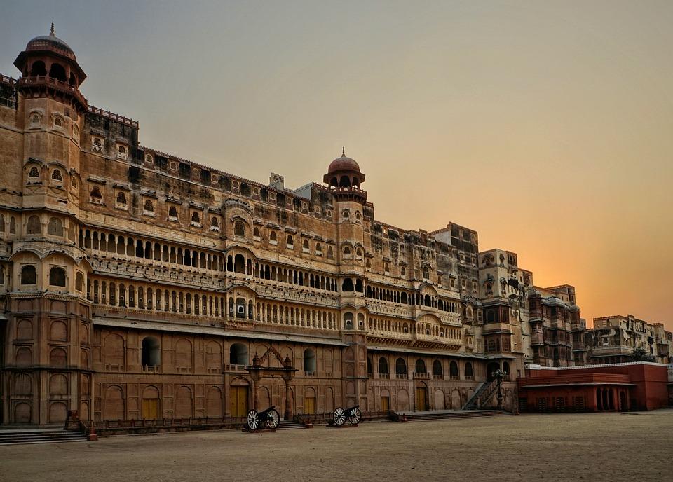 Junagarh Fort, Bikaner, Architecture, Travel