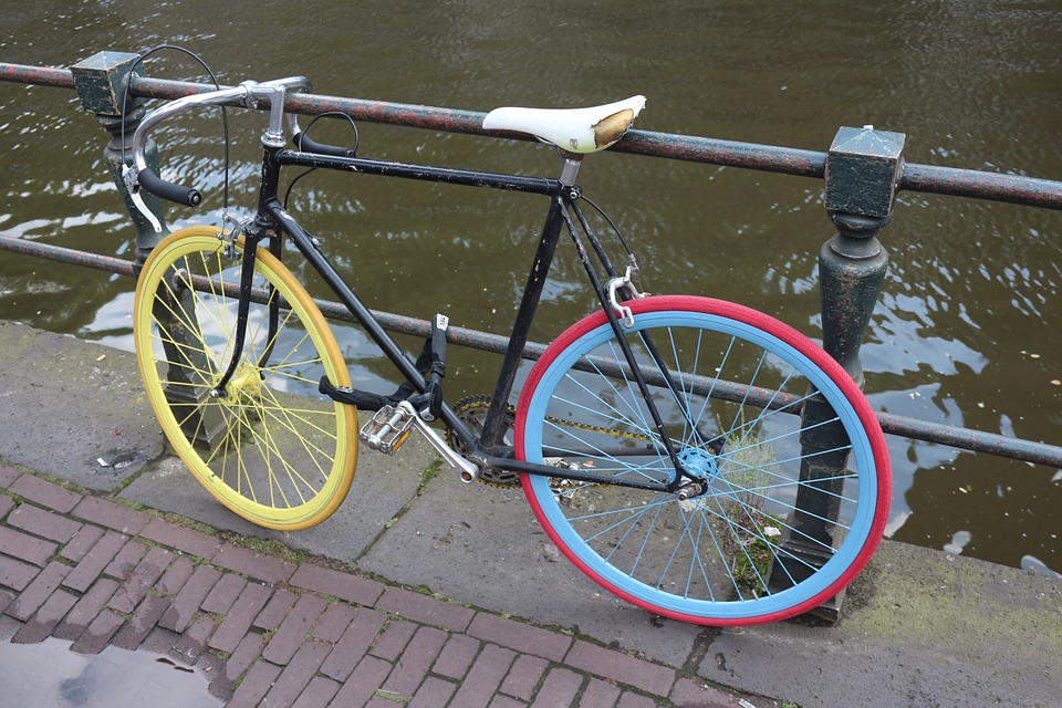 Bike, Low Country, Amsterdam