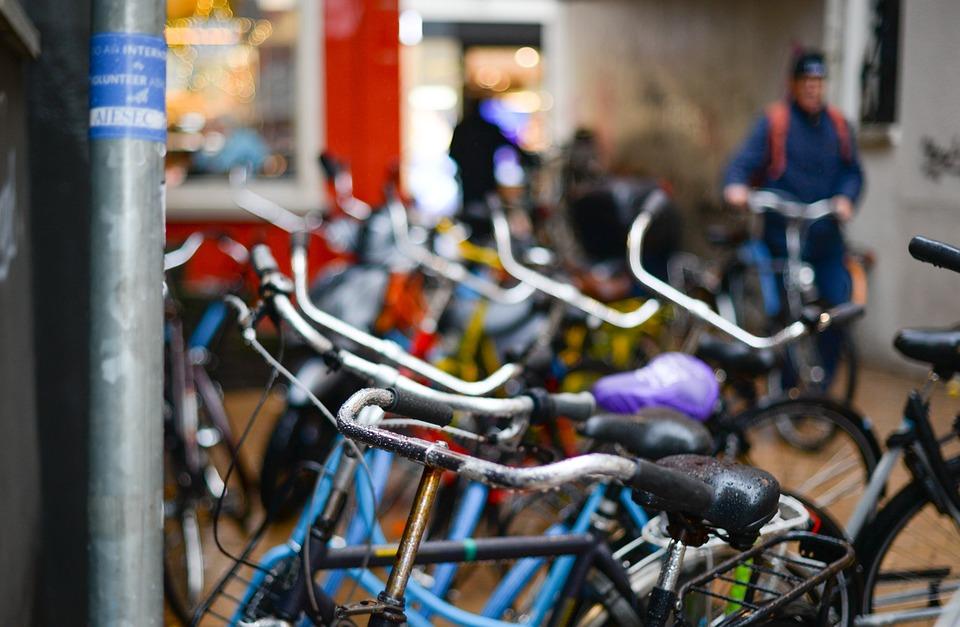 Parked, Bikes, Netherlands, Groningen, Bike, Bicycle