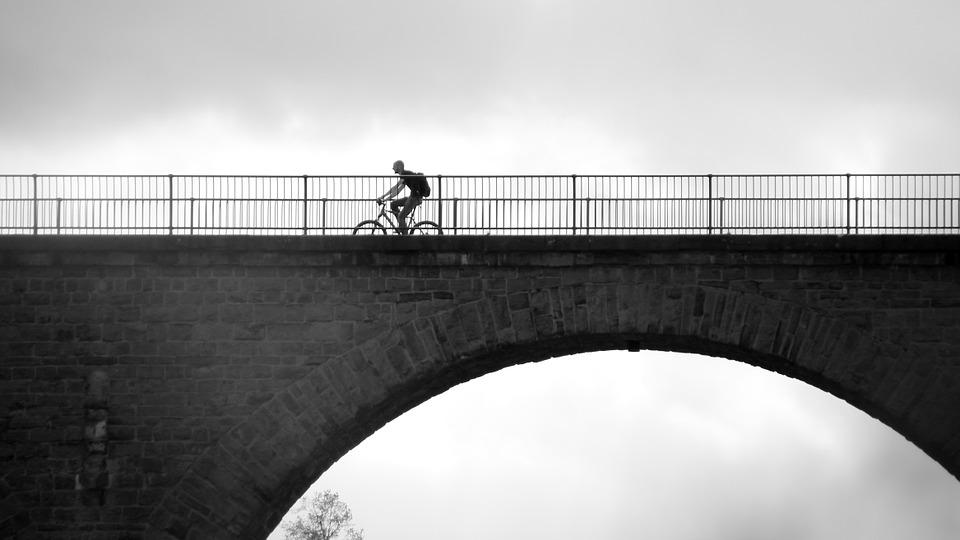 Bike, Cyclists, More, Bike Ride, Bridge, Cycle, Tour