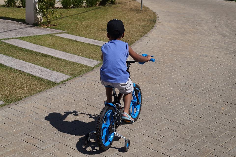 Street, Bike, Child