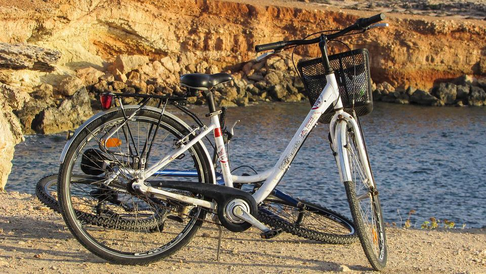Bicycle, Sea, Bike, Cliff, Nature, Cycling, Leisure
