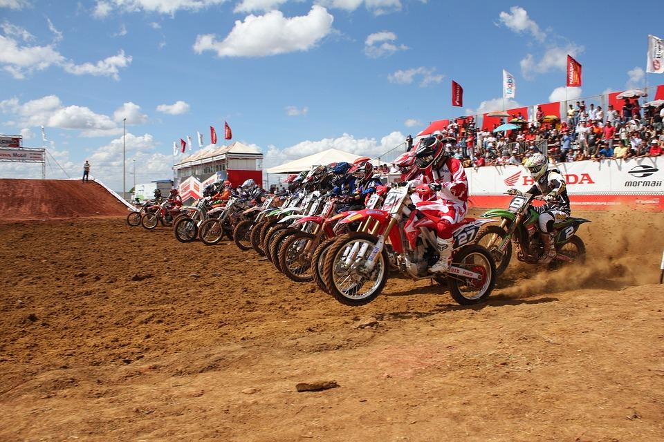 Bike, Competition, Championship, Motocross, Helmet