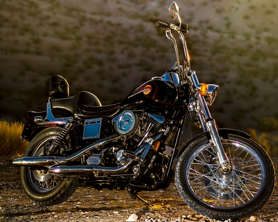 Motorcycle, Harley, Motor, Bike, Motorbike, Transport