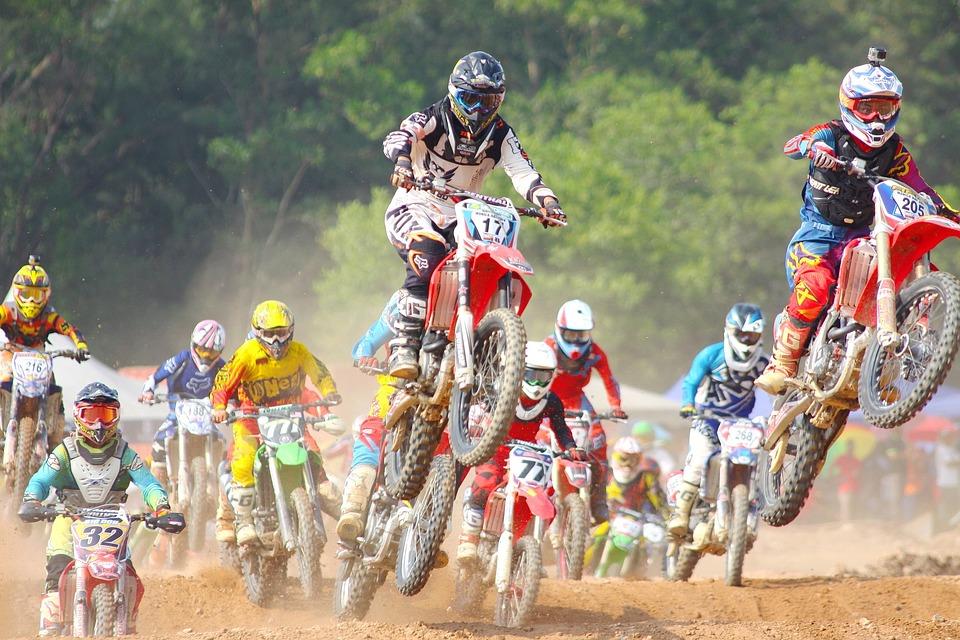 Action, Bike, Biker, Competition, Fast, Helmet, Man