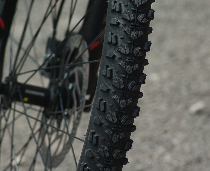 Mountain Biking, Wheel, Tire, Bike