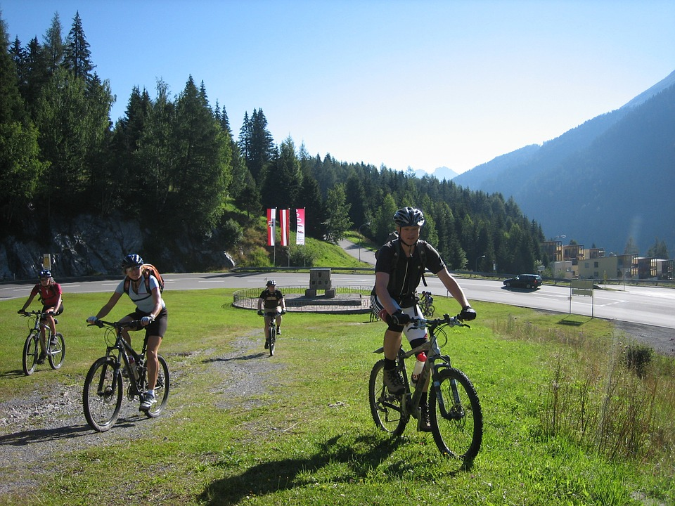 Cycling, Bike, Transalp, Sport