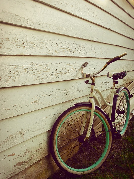 Bicycle, Bike, Spokes, Wall, Wood