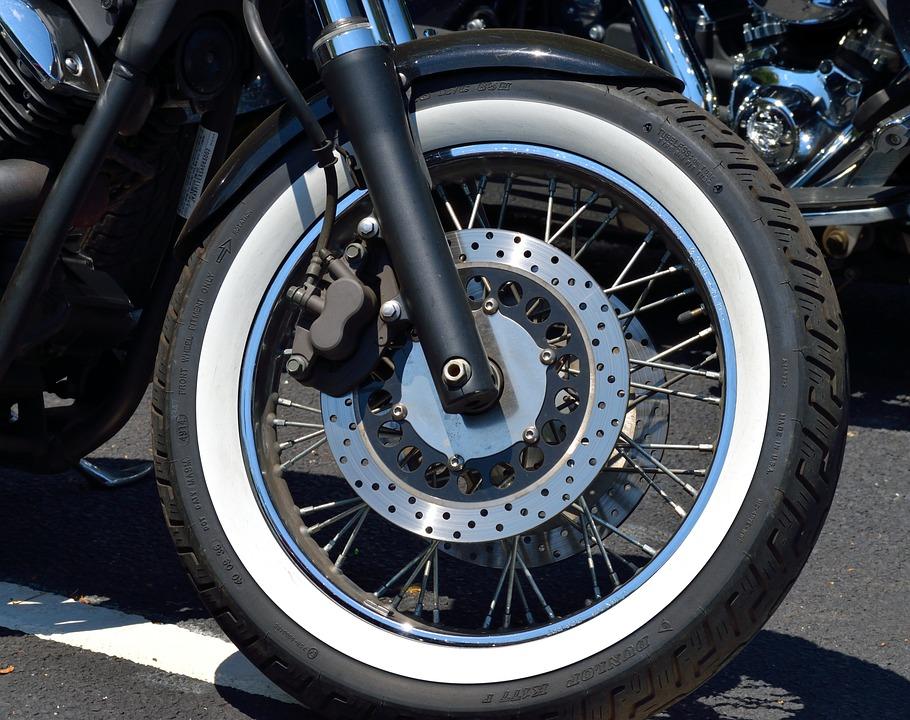 motorcycle chopper tire white wall bike motorbike