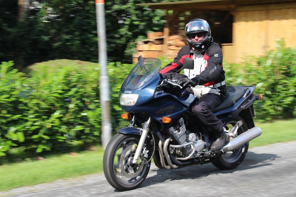 Biker, Motorcycle Rider, Motorbike, Motorcyclist