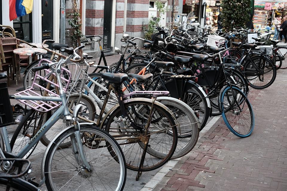 Bikes, Amsterdam, Parking
