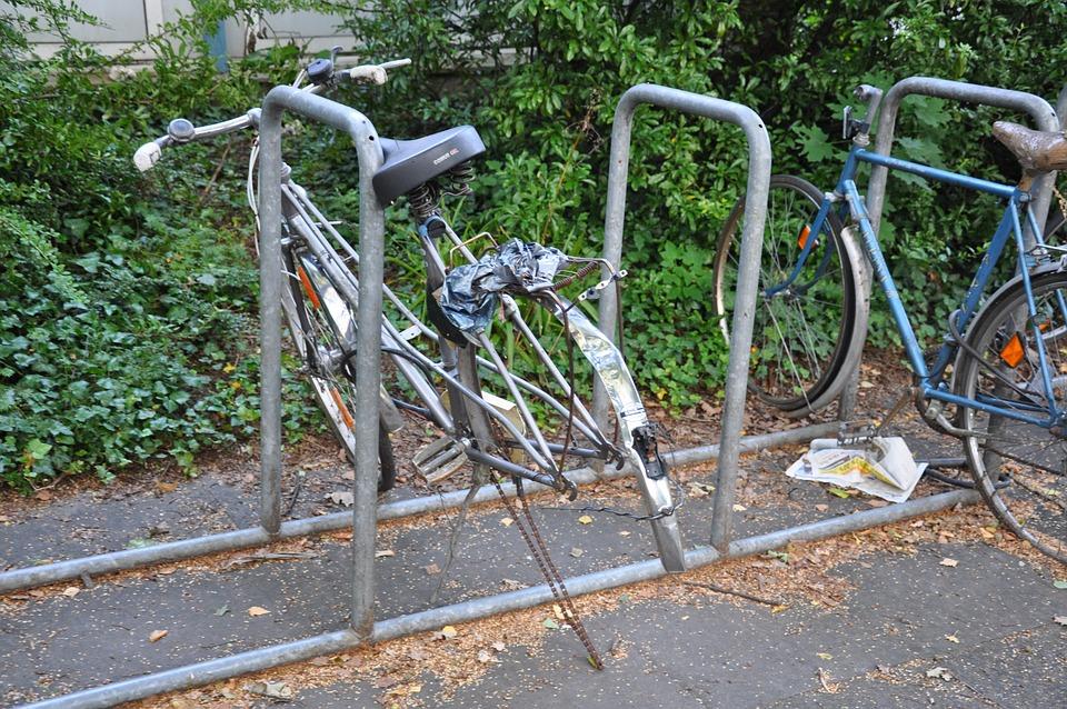 Bike, Old, Bikes, Stand