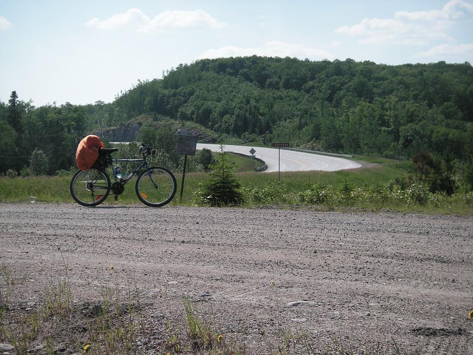 Bike, Landscape, Bicycle, Mountain, Sport, Biking, Hill
