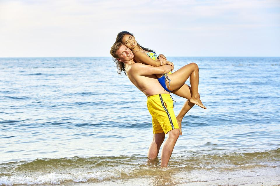 Bikini, Couple, In Love, Napa, Swimming Suite