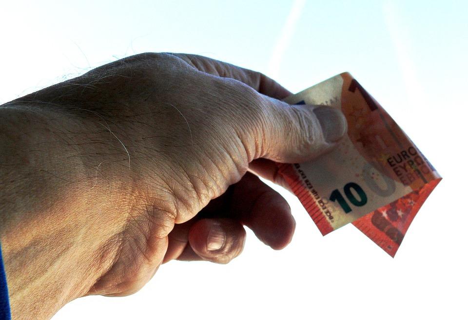 Give, Accept Euro, 10 Euro, Euro Banknote, Money, Bill