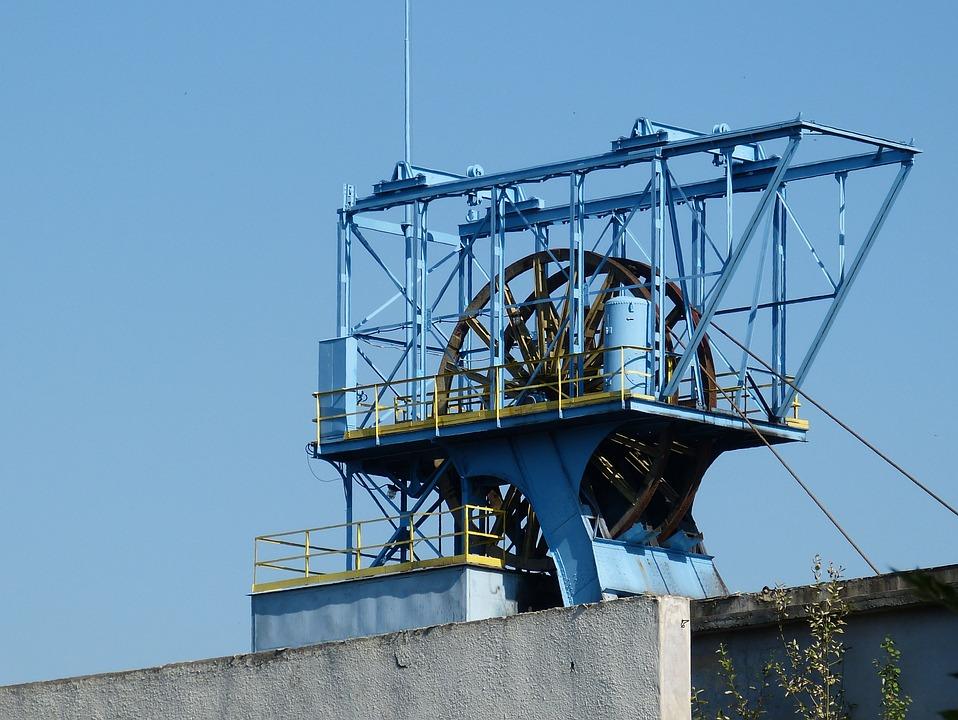 Headframe, Industry, Mining, Bill, Mine, Katowice