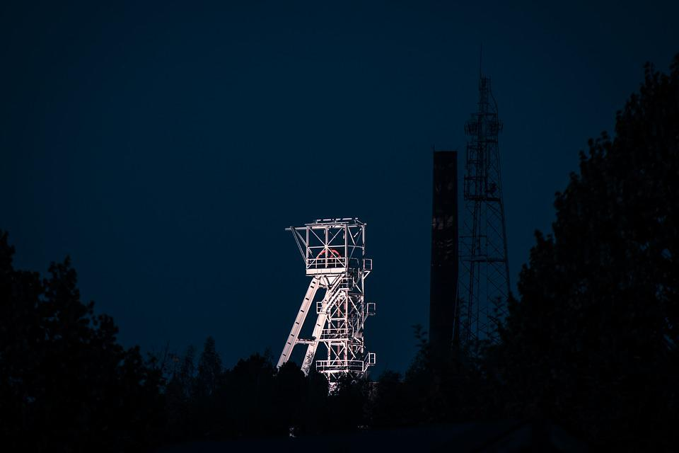 Headframe, Mining, Tower, Industry, Technology, Bill