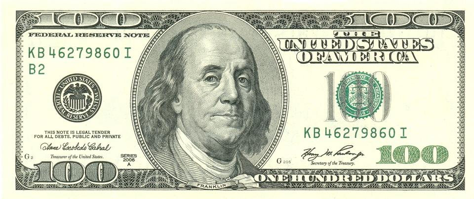 Dollar, Money, Bill, Paper Money, Banknote