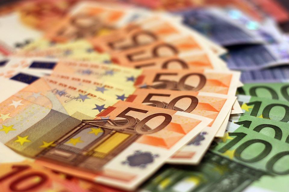 Money, Bank Note, Euro, Banknote, Paper Money, Bill