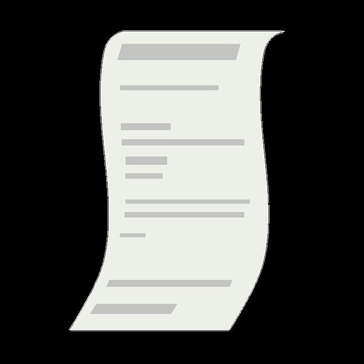 Bill, Document, Buy, Shopping, Supermarket, Receipt