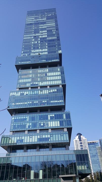 Building, Bina, Bussiness, Blue