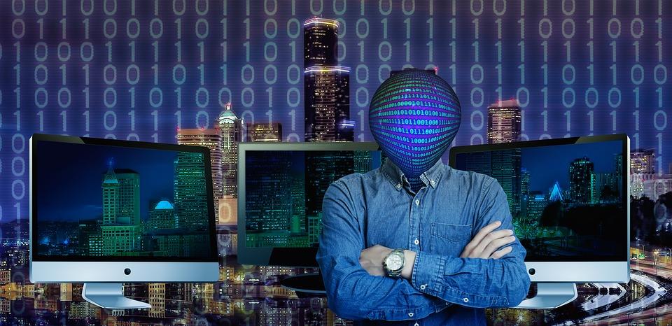 Company, Technology, Human, Computer, Monitor, Binary