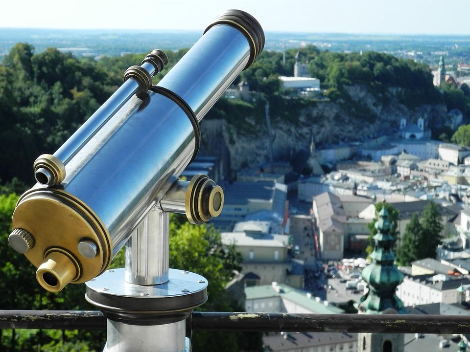 Telescope, Observatory, Viewpoint, Binoculars