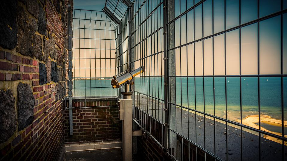 View, Observation Deck, Binoculars, Telescope, Vision