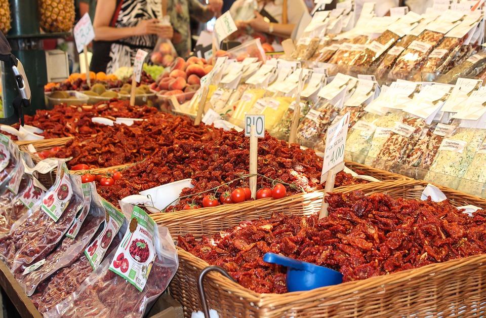 Tomato, Spices, Dried, Bio, Nature, Spicy, Oregano