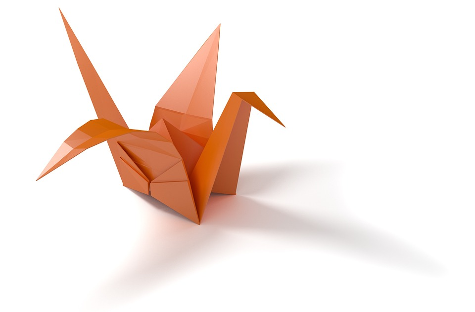 Origami, Folding Paper, Bird, Crane, Hobby, Art