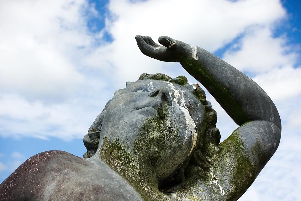 Statue, Misfortune, Bad, Luck, Karma, Bird, Dropping