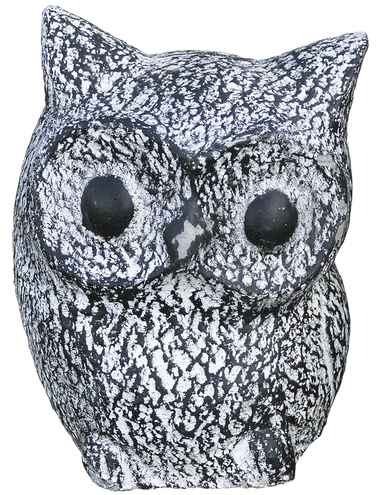 Owl, Ceramic, Sculpture, Decoration, Figure, Bird