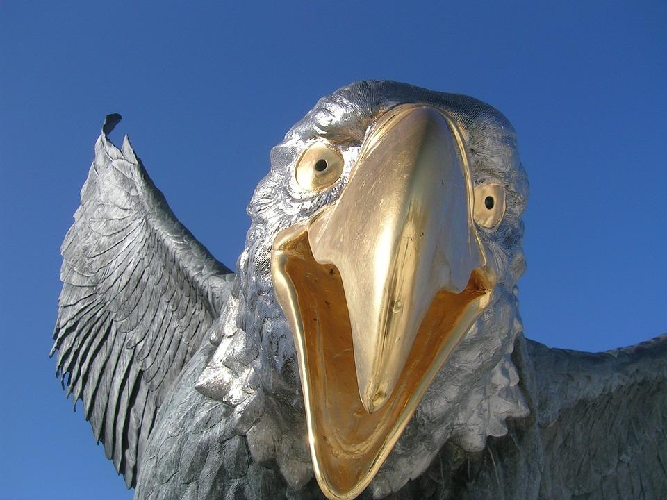 Eagle Statue, Bald Eagle, Bird Statue