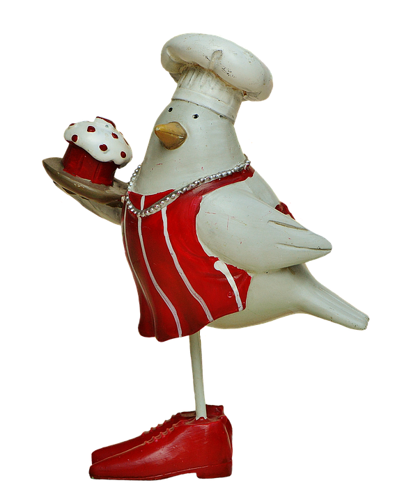 Cooking, Cook, Bake, Birds, Easter, Funny, Figures