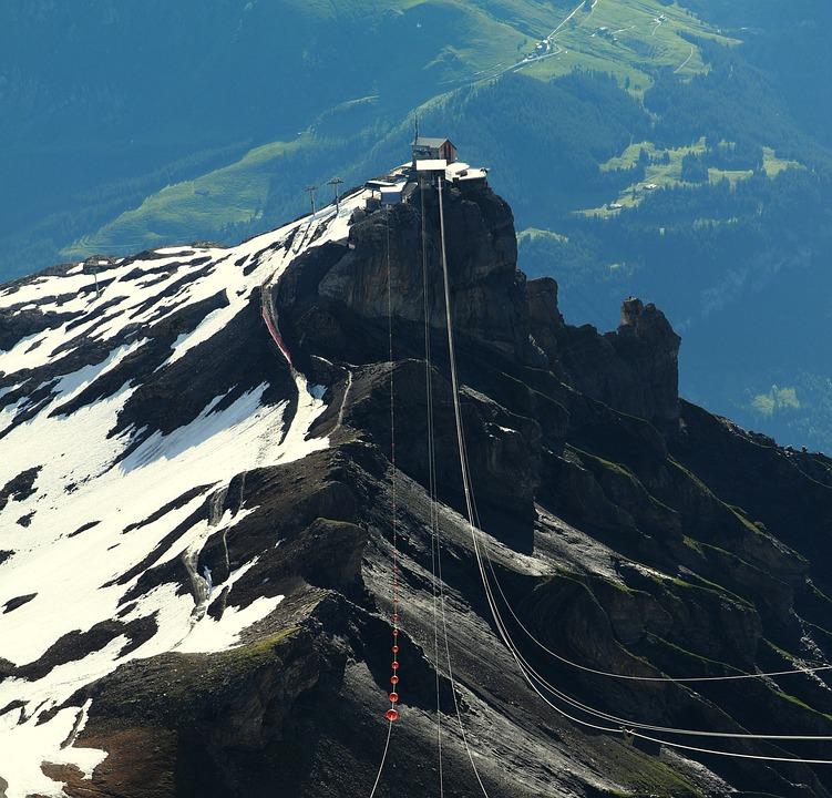 Birg, Switzerland, Gondola, Tram, Mountain