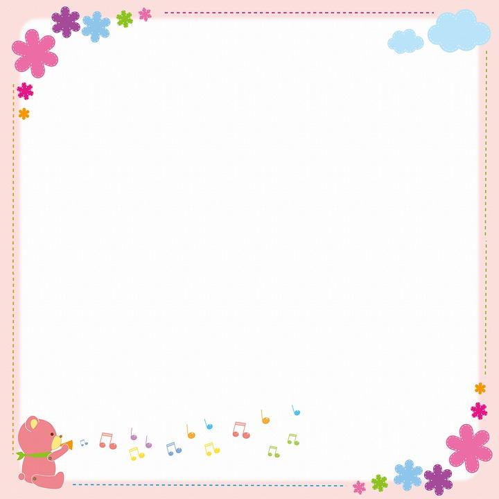 Background, Digital Paper, Bear, Child, Birthday